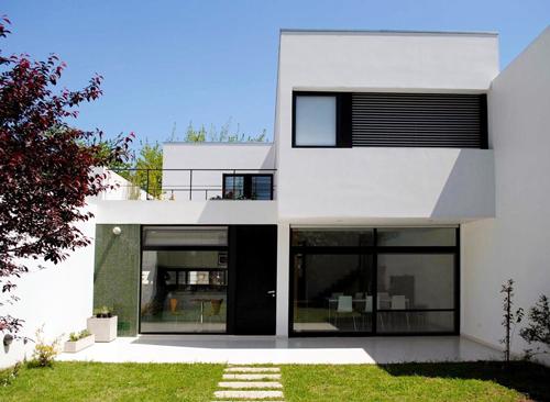 Réalisation d'une maison contemporaine